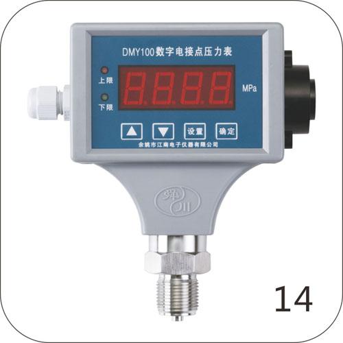 DMY100数字电接点压力表(蜂鸣器报警)